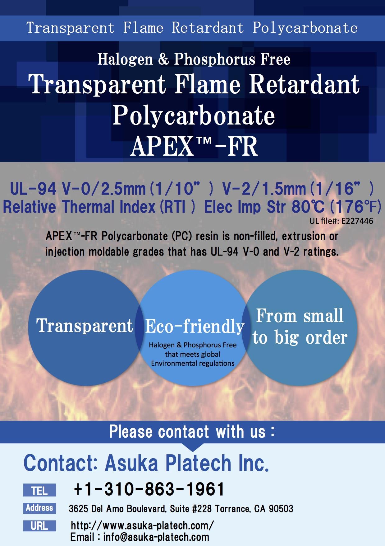 Polycarbonate Pc Asuka Platech Inc